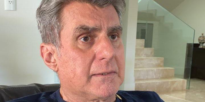 Romero Jucá em entrevista ao telefone