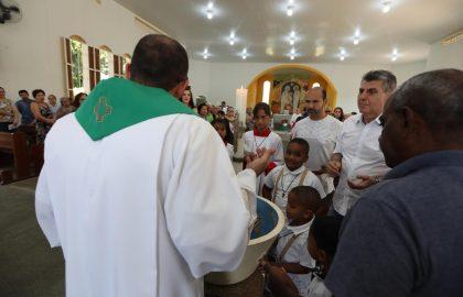 Romero Jucá na Missa