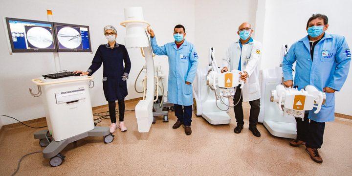 Recursos Jucá novos equipamentos Hospital da Criança