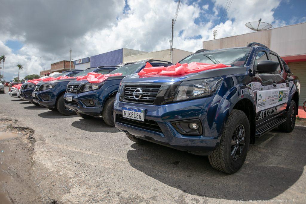 Pacaraima recebeu novos carros de Jucá