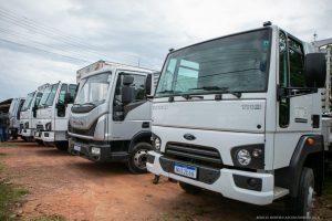 Rorainópolis ganhou caminhões para a agricultura