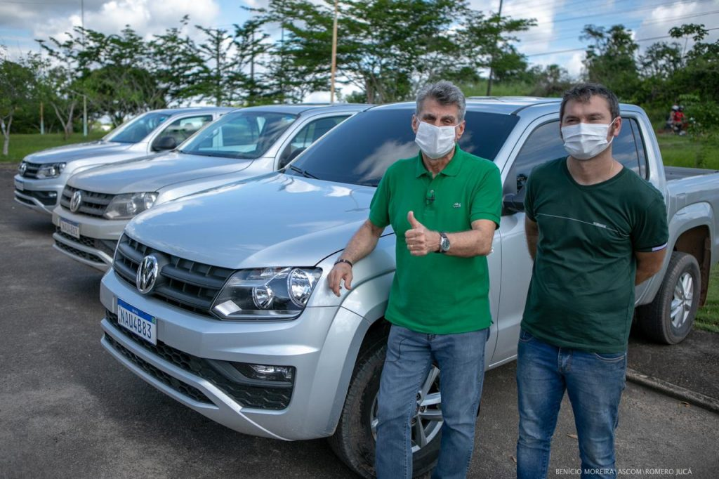 Veículos Prefeitura São Luiz Jucá