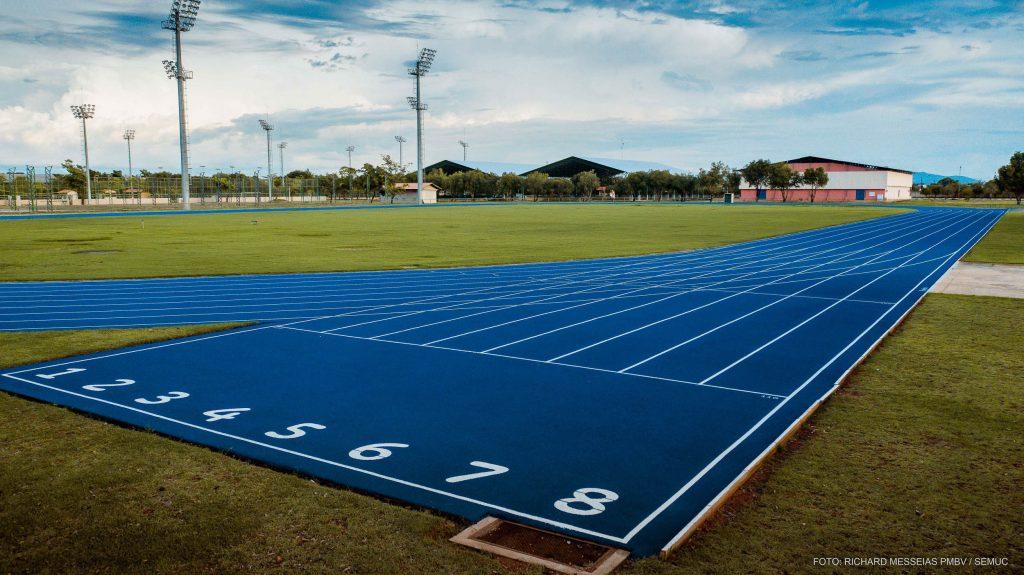 Pista de Atletismo da Vila Olimpica Roberto Marinho, em Boa Vista