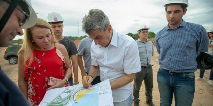 Grandes obras realizadas em Boa Vista têm recursos de Jucá