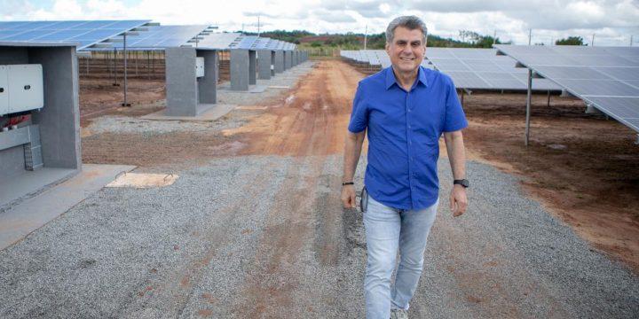 Jucá usina de energia solar