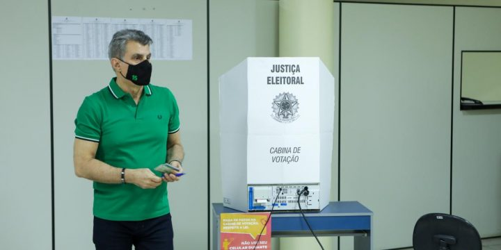 Jucá fala sobre importância do voto consciente