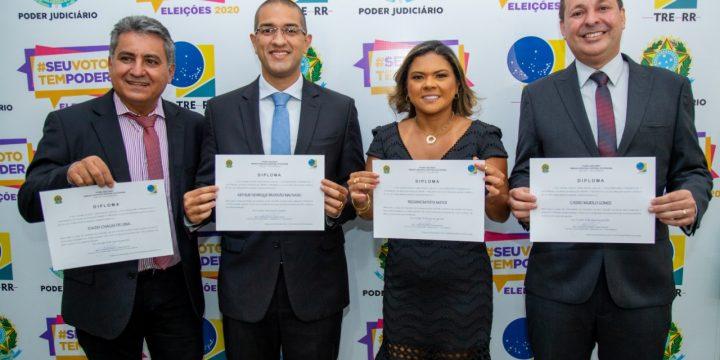 Representantes do MDB diplomados pelo TRE
