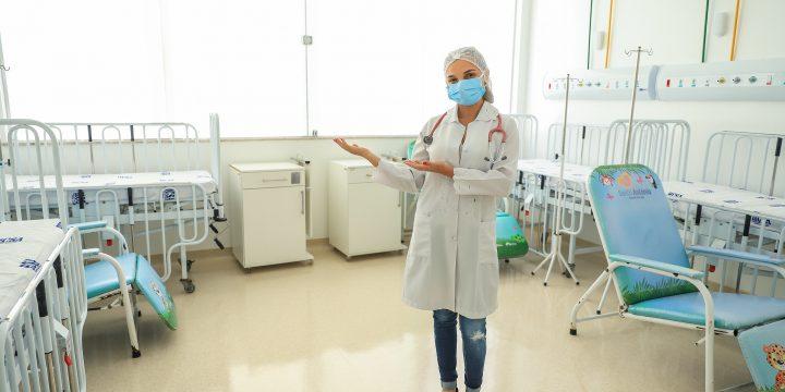 Reforma do Bloco G do Hospital da Criança