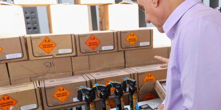 Guarda Municipal de Boa Vista tem novos equipamentos