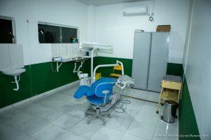 Imagem de consultório odontológico no posto de saúde