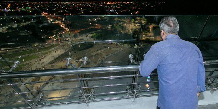 Jucá trouxe recursos para a construção do Parque do Rio Branco