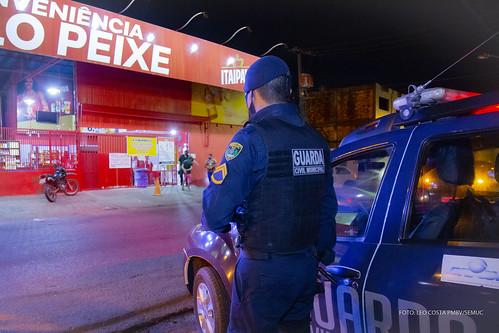 Covid Guarda Municipal de Boa Vista faz prevenção