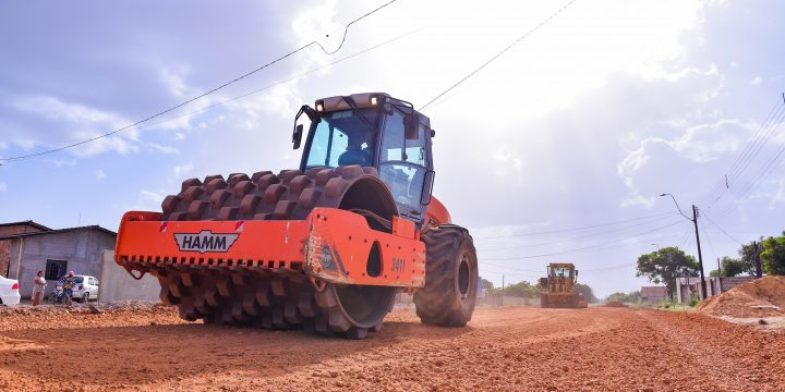 Jucá destina recursos para asfalto de avenidas em Boa Vista