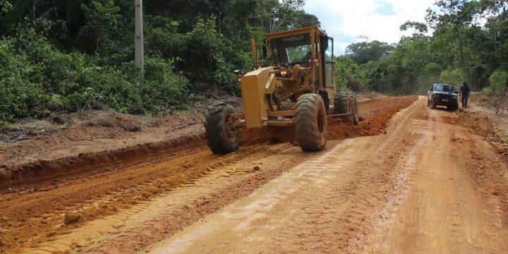 Recursos de Jucá melhoram a vicinal 18 de São Luiz