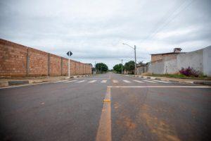 Imagem de rua asfaltada em Rorainópolis