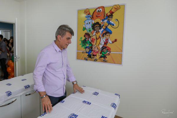 Romero Jucá confere leito no Hospital da Criança