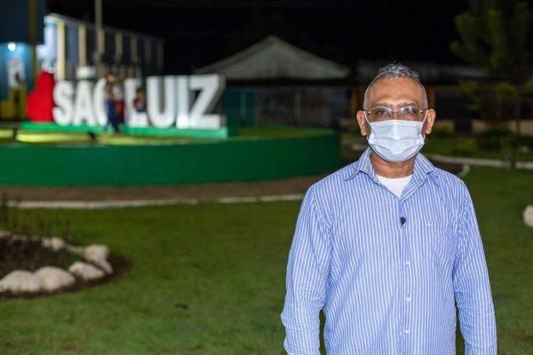 Marcelino Pereira na Praça de São Luiz. Desenvolvimento dos municípios