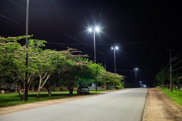 Imagem de iluminação da BR-210