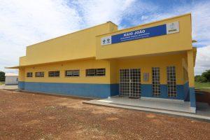Imagem de UBS construída na Comunidade do Jacarezinho