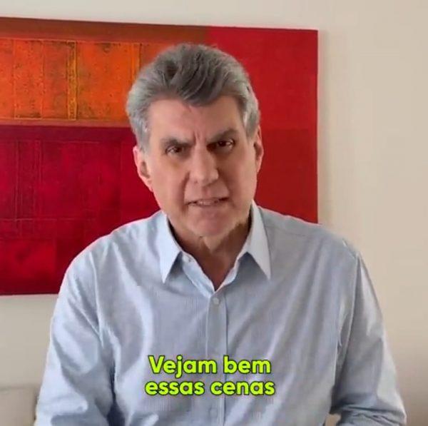 Romero Jucá fala sobre goteiras no HGR