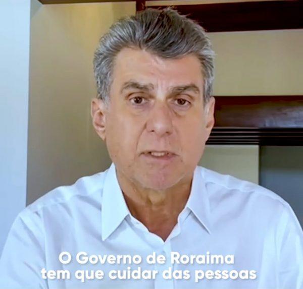 Romero Jucá de camisa clara classifica como vidas sem valor o que o Governo está fazendo