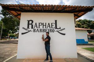 O barbeiro tem agora um ponto personalizado