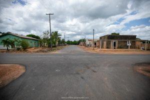 Imagem de ruas asfaltadas no bairro Novo Planalto