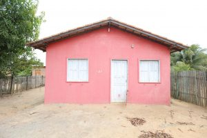 Imagem de uma casa popular mostra trabalho de senador em Mucajaí