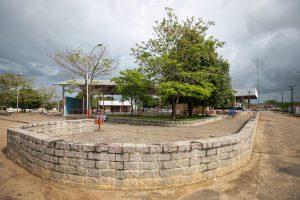 Imagem da Praça do Chaguinha