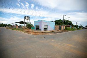 Imagem de rua asfaltada no bairro J Flores