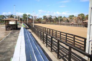 No Cantá, o Parque de Exposição está sendo recuperado