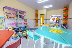 Sala de aula da creche proinfância de Boa Vista Roraima