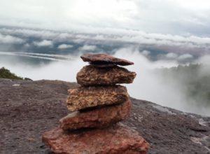 Imagem de cima da Serra Grande, no Cantá