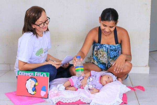 Visitação familiar do FQA é destaque da Primeira Infância