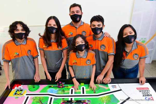 Equipe de robótica do CCTI