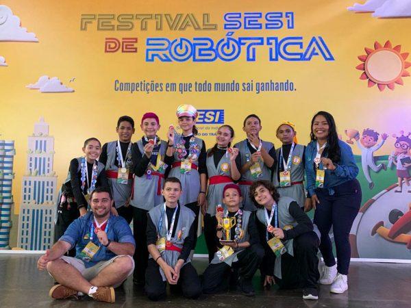 Equipe I'Robot em SP