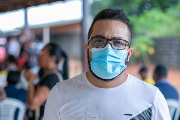 Jardeson Lima olha para a câmera e fala que Hospital da Criança atende pessoas de todo o Estado