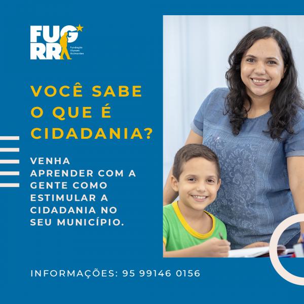 FUG RR oferta curso de Cidadania para a população