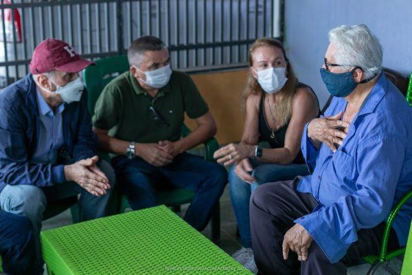 Romero e Teresa desmentem fake news em Rorainópolis