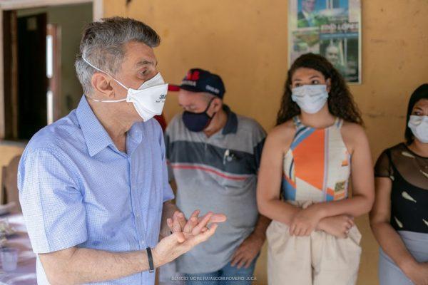 Jucá e Teresa em visita a rorainopólis combatem fake news da lava jato