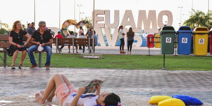 Transformação de BV na Praça das Águas