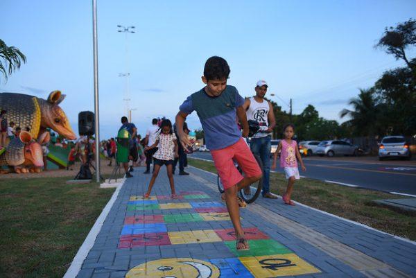 Diversão e preservação andam juntas no Parque do Igarapé do Pricumã