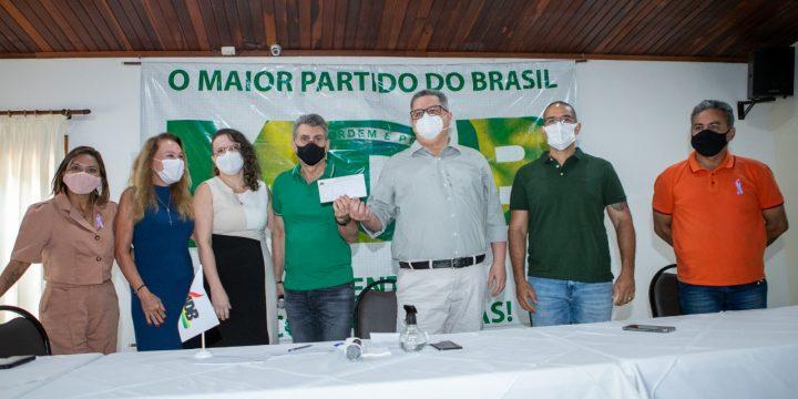 Dr. Frutuoso Lins agora é do MDB de Roraima