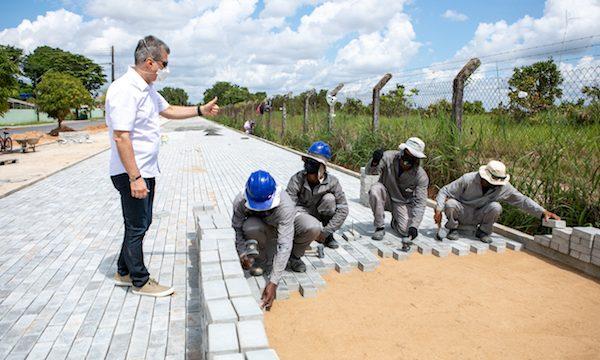 Obras geram emprego e renda em Roraima