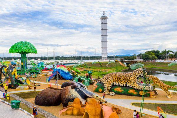 No Parque do Rio Branco tem selvinha amazônica e o mirante Edileuza Loes