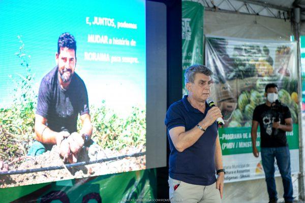 Romero Jucá fala para produtores de Caroebe e Baliza