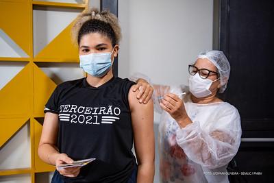 Boa Vista tem vacina para os adolescentes contra a covid