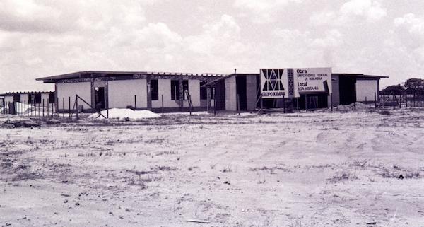 Imagem antiga da Universidade Federal de Roraima