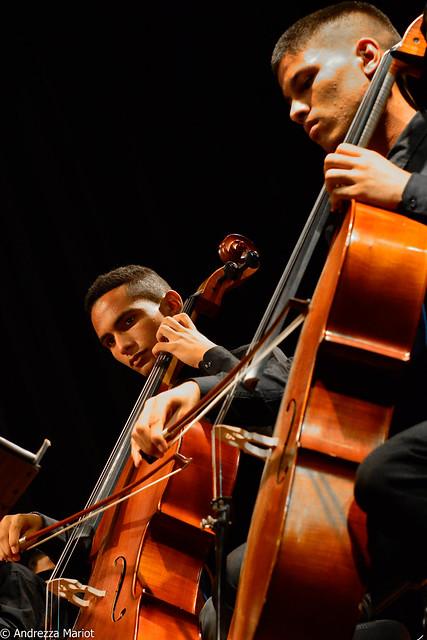 Concerto musical no ciclo das quintas