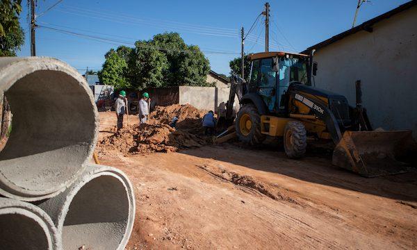 Obra de drenagem acaba com ponto crítico de alagamento no bairro Cauamé, em Boa Vista